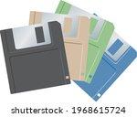 image illustrations of floppy... | Shutterstock .eps vector #1968615724