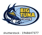 vector of tuna fishing club... | Shutterstock .eps vector #1968647377