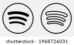 logo in line art style. social... | Shutterstock .eps vector #1968726031