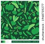 seamless texture. pattern of... | Shutterstock .eps vector #1968735277