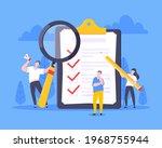 checklist complete business...   Shutterstock .eps vector #1968755944
