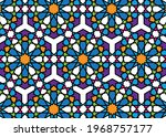 colorful islamic pattern ... | Shutterstock .eps vector #1968757177