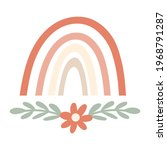 boho rainbow element with...   Shutterstock .eps vector #1968791287