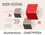 banner for book festival. open...   Shutterstock .eps vector #1968799504