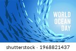 world ocean day. happy world... | Shutterstock .eps vector #1968821437