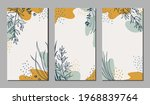 botanical art. abstract organic ... | Shutterstock .eps vector #1968839764