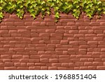 wall  branches liana  ivy....   Shutterstock .eps vector #1968851404