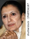 Small photo of Florence, Italy - February 21, 2008: Carla Fracci (Milan, August 20, 1936) is an Italian dancer. Carla Fracci is universally considered one of the greatest dancers of the twentieth century.