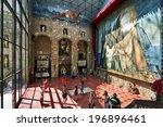 figueres  spain   august 04 ... | Shutterstock . vector #196896461
