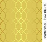 art deco seamless golden... | Shutterstock .eps vector #1969103341