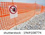 Perforated Safety Orange...