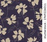 brown floral tropical botanical ...   Shutterstock .eps vector #1969226011