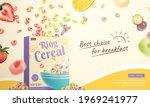 3d ring cereal breakfast ad... | Shutterstock .eps vector #1969241977