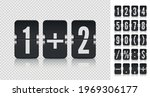 flip numbers and symbols font...