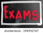 exams concept | Shutterstock . vector #196932767