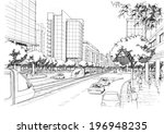 city   highway | Shutterstock . vector #196948235