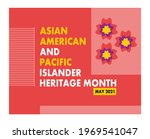 heritage month template design... | Shutterstock .eps vector #1969541047