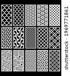 15 design set  jali design for...   Shutterstock .eps vector #1969771861