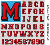 font | Shutterstock .eps vector #196979405