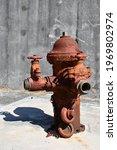 Rusted Retro Fire Hydrant...