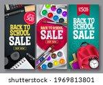 back to school sale vector...   Shutterstock .eps vector #1969813801