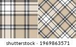 plaid pattern herringbone print ...   Shutterstock .eps vector #1969863571