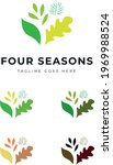 beautiful decorative plant tree ... | Shutterstock .eps vector #1969988524