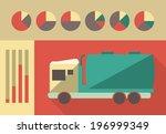 transportation infographic... | Shutterstock .eps vector #196999349
