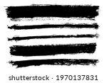 brush strokes bundle. vector...   Shutterstock .eps vector #1970137831