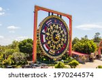 The Buddhist Giant Gong With...