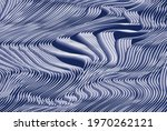 modern wavy curve abstract...