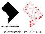 network polygonal and solid map ... | Shutterstock .eps vector #1970271631