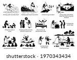 miracles by prophet elisha in... | Shutterstock .eps vector #1970343434