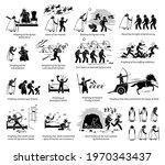 miracles by prophet elisha in... | Shutterstock .eps vector #1970343437