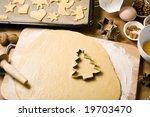 Baking Scenery With Christmas...