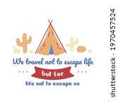 vintage quote illustration... | Shutterstock .eps vector #1970457524
