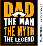 dad t shirt design  father's... | Shutterstock .eps vector #1970472287