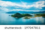 View Of The Sea  Islands And...
