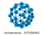 molecular structure   Shutterstock . vector #197056961