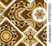 seamless pattern with silk... | Shutterstock .eps vector #1970579201