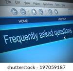 illustration depicting a... | Shutterstock . vector #197059187