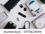 Data Storage Devices Concept...