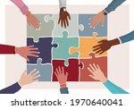 agreement or affair between a... | Shutterstock .eps vector #1970640041