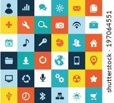 icons 36 | Shutterstock .eps vector #197064551