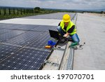 photovoltaic engineer | Shutterstock . vector #197070701