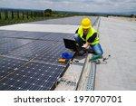 photovoltaic engineer | Shutterstock . vector #197070701