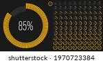set of circle percentage...   Shutterstock .eps vector #1970723384