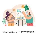 woman character financial... | Shutterstock .eps vector #1970727137