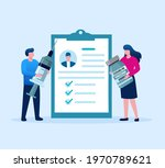 man and women carry on... | Shutterstock .eps vector #1970789621