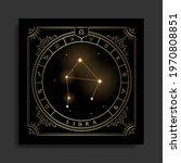 libra zodiac constellation... | Shutterstock .eps vector #1970808851